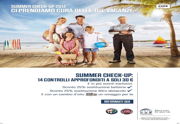 SUMMER CHECK-UP 2014